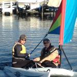 Personalized sailing lessons on Geneva Lake.