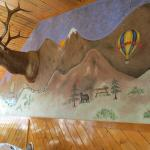 Wall mural in Restaurant