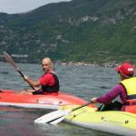 Kayaking with Bellagio Water Sports Kayak Club