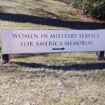 Photo of Women in Military Service for America Memorial