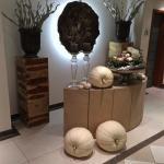 Decoratie .. sauna-afdeling