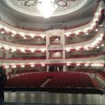 Вид на зал со сцены театра