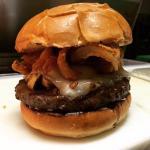 La Garza Smoke House Burger