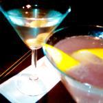 Martini seco y Cosmopolitan