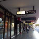 Tattoo shop at K Road
