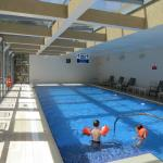 The new swimming pool