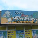 Eds beach bakery  rainbow beach