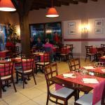 Salle restaurant La Fontaine à St. Satur (cher)