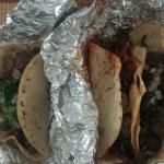 Tacos, Pollo, Lamb, chorizo