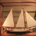 The two-masted bugeye oyster boat