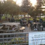 Outdoor seating for nice weather