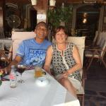 Mick & Anita Enjoying crete
