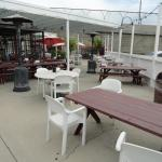 Outdoor seating -- patio area