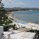 Studios Naxos view from the balcony
