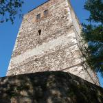 La Rocca tower (a.k.a. Spy of Italy): 23m high, now a museum of the 1859 battle.