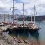 Thirassia port