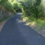 Strada per arrivare all agriturismo