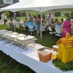 Outdoor Wedding Catering