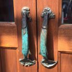 Door Handles of the Flagship Orvis Store