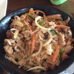 Okyako (chicken) Donburi