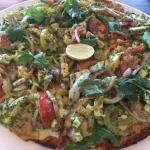 Cilantro Pizza