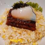Unagi with Fried Rice