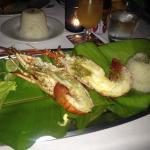 Fresh lobster for dinner