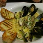 Linguine with Clams and Mussels