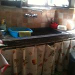cucina, particolare del lavello