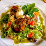 Lamb Kofta and Salad
