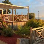 Terrasse de Mer &Forêt au petit matin