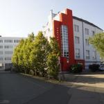 Hotel Goethe aus Sicht von der Straßeneinfahrt