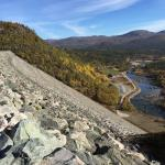 The Vatnedalen Dams