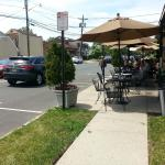 Sidewalk dining at Xocolatz
