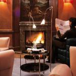 Laurin Bar - Smokers' Lounge Fireplace
