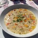 Gerstlsuppe - kleine Portion