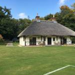 The superb pavilion.Situated 2 minute walk away from the main hotel.