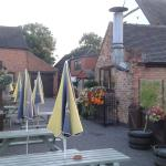 The Outside seating area