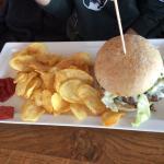 Amerikan Blue Cheese Burger