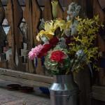 Fun flower bouquet on the Guest Deck.