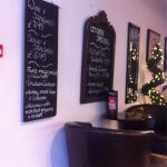 Inside Kafeneion