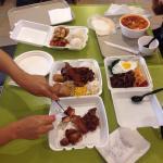 We ordered yukaejang, bibimbab, chicken BBQ. Was nice to have Korean food cuz we are Korean. But