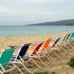 Our beach chairs for our guests