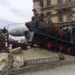 The outside of Steampunk HQ museum
