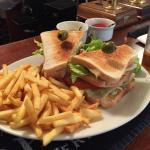 Club Sandwich at The Highclere Red House