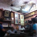 Crazy old cafe from the 1950s.  Never changed in the past 25 years I have visited!