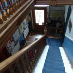 Priestville Guesthouse Stairway