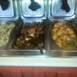 Good buffet, good taste.