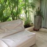 Terraza privada... Hermoso jardín. Muy cuidado!!!