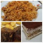 el arroz a la zamorana y la carrillera iberica de muerte